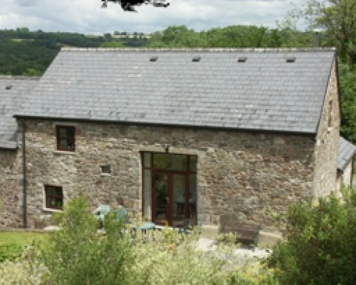 Llwynpur self-catering cottage.